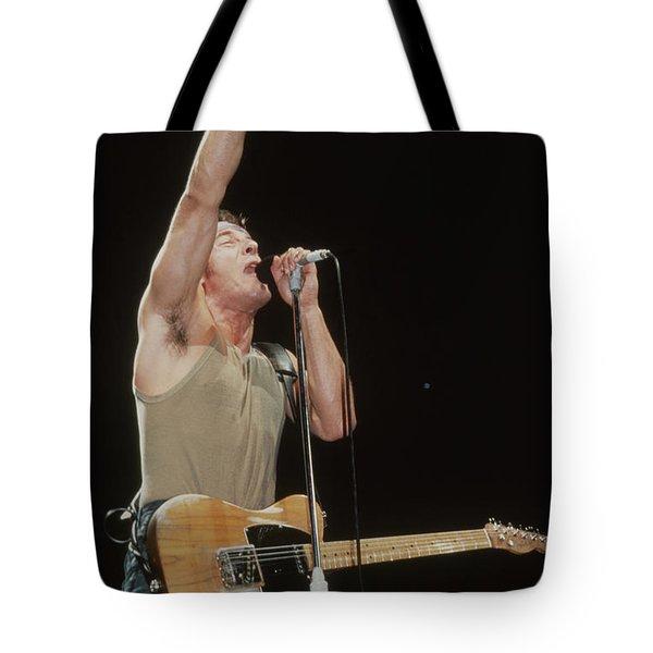 Bruce Springsteen Tote Bag