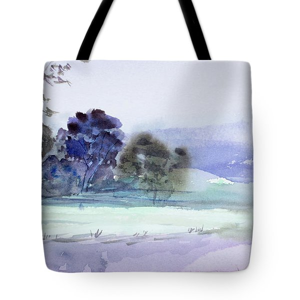 Bruny Island At Dusk Tote Bag