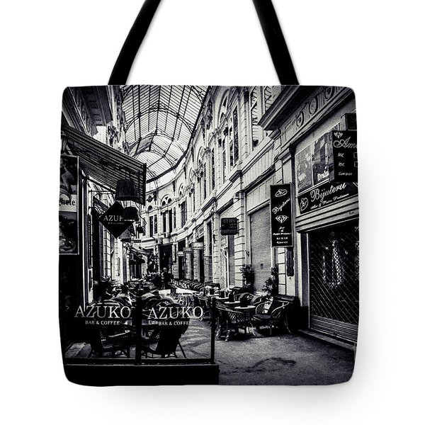 Monochrome Bucharest  Macca - Vilacrosse Passage Tote Bag