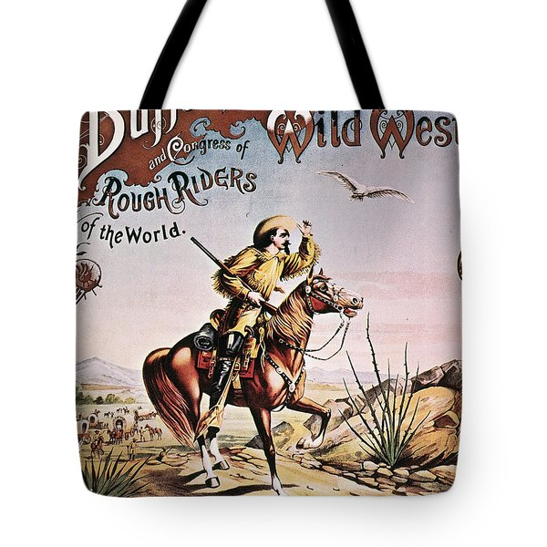 Buffalo Bill: Poster, 1893 Tote Bag by Granger