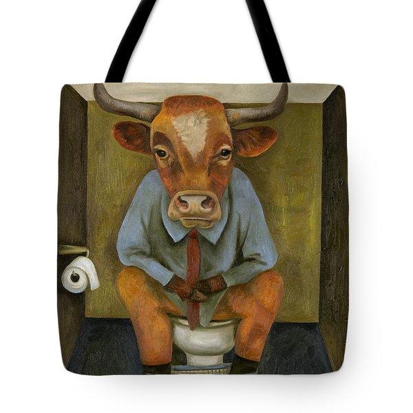 Bull Shitter Tote Bag