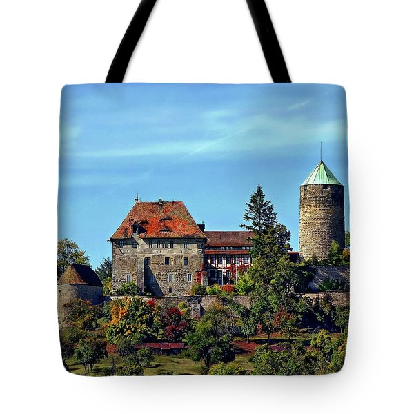 Burg Colmberg Tote Bag