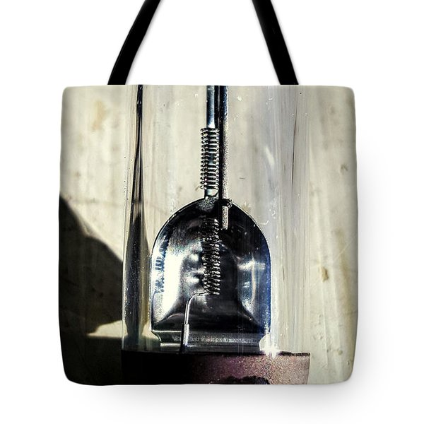 Burnt Out Tote Bag by Bruce Carpenter