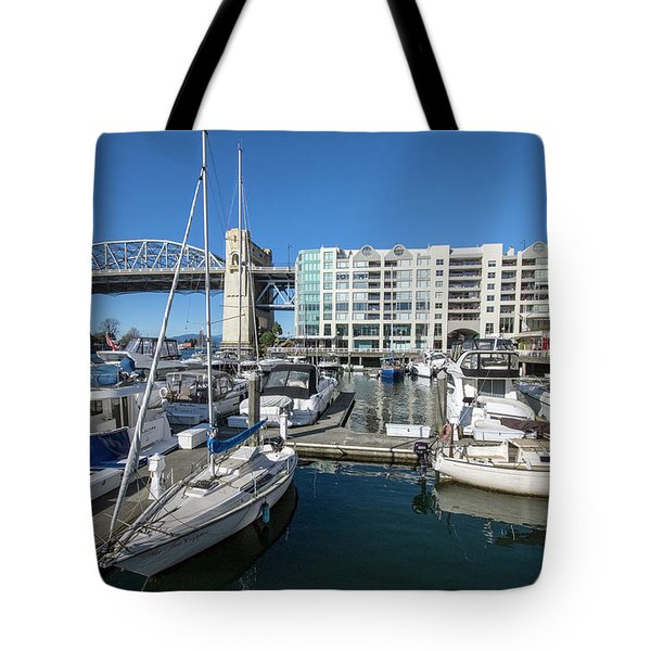 Burrard Bridge Tote Bag