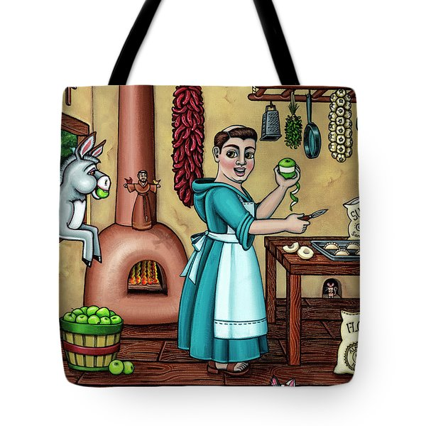 Burritos In The Kitchen Tote Bag