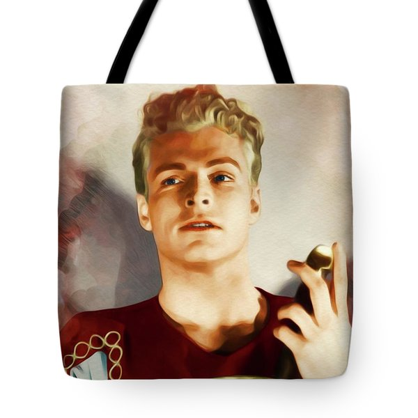 Buster Crabbe As Flash Gordon Tote Bag