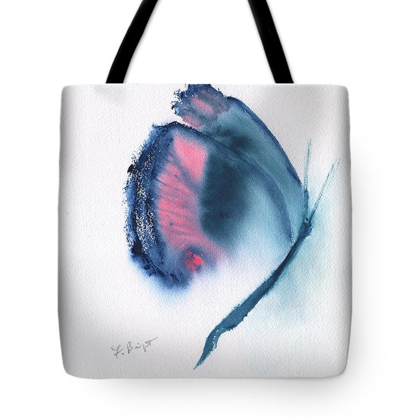 Butterfly Abstract 3 Tote Bag by Frank Bright