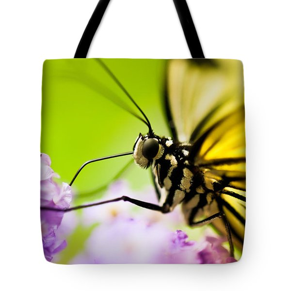 Butterfly Tote Bag by Sebastian Musial