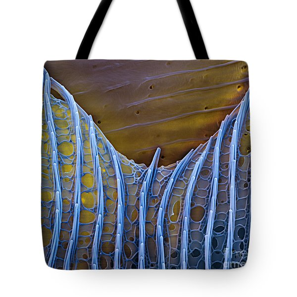Butterfly Wing Scale Sem Tote Bag by Eye of Science