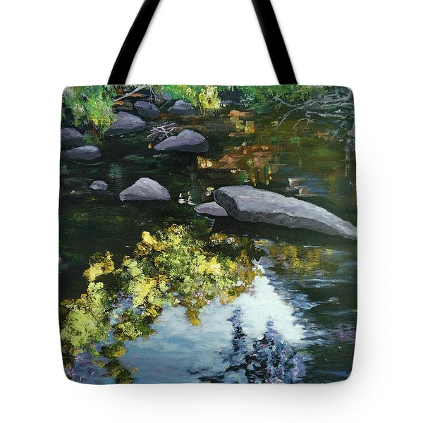 By The Creek Tote Bag