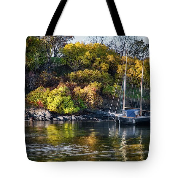 Bygdoy Harbor Tote Bag