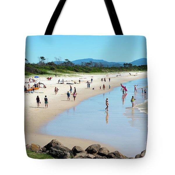 Byron Bay Main Beach Tote Bag