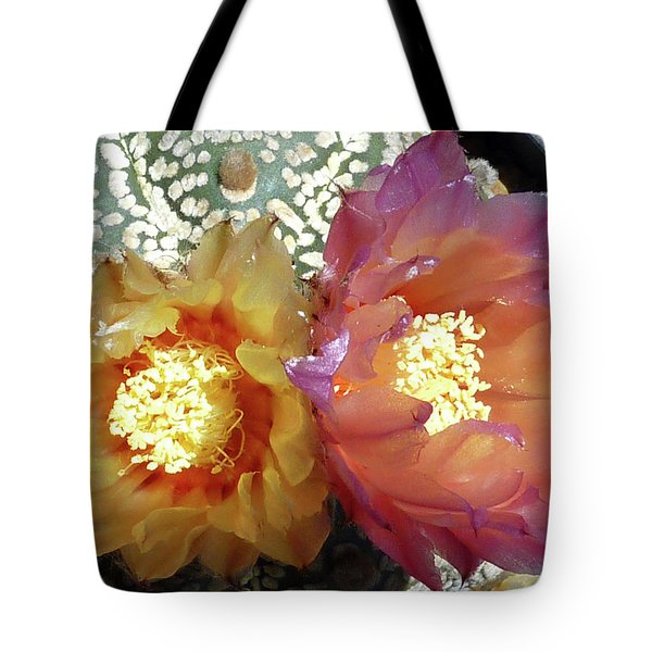 Cactus Flower 3 Tote Bag
