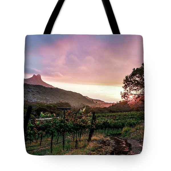 Colibri Sunrise Tote Bag
