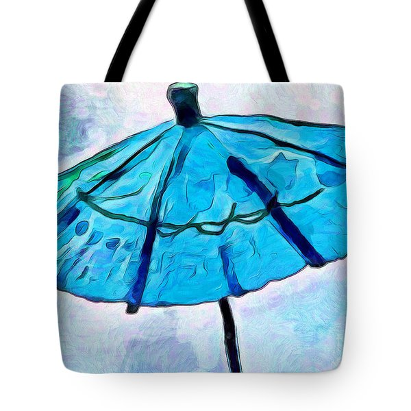 Calm Shelter Tote Bag