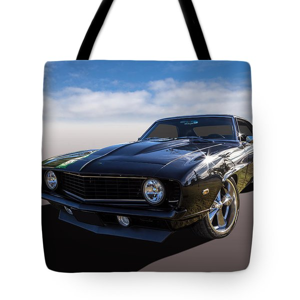 Tote Bag featuring the photograph Camaro by Keith Hawley
