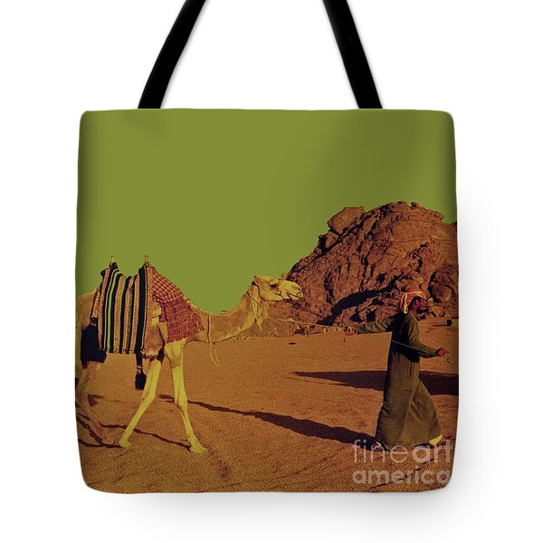 Camel Ride Tote Bag