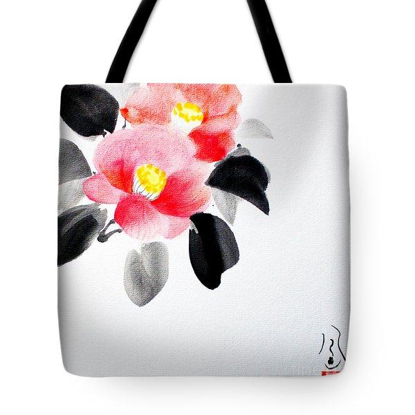 Camellia / Tsubaki Tote Bag