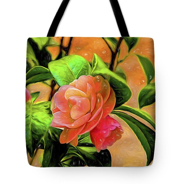 Camellia Candy Tote Bag