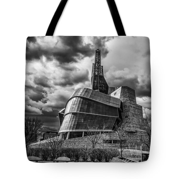 Canadian Museum For Human Rights Tote Bag