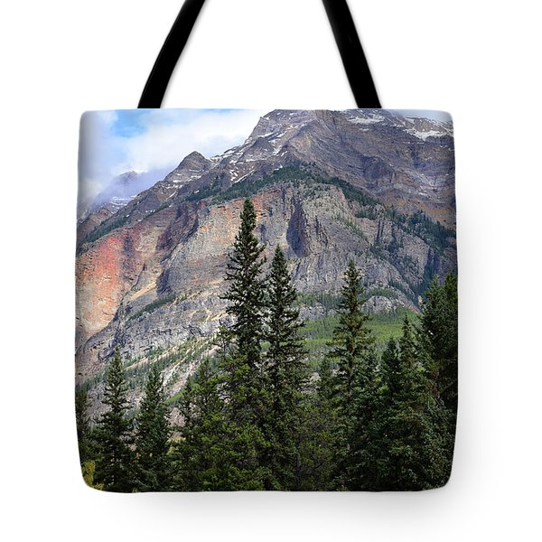 Canadian Rockies No. 2-1 Tote Bag