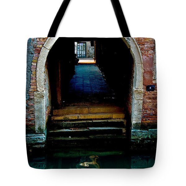 Canal Entrance Tote Bag