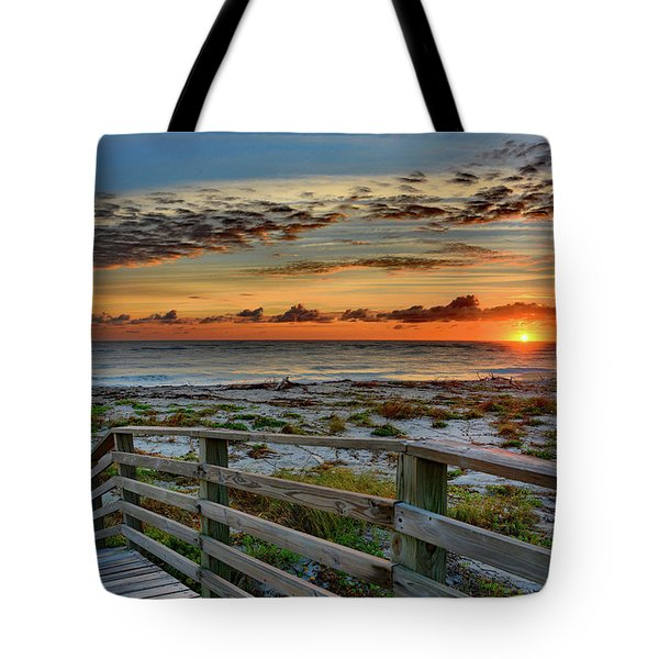 Canaveral Sunrise Tote Bag