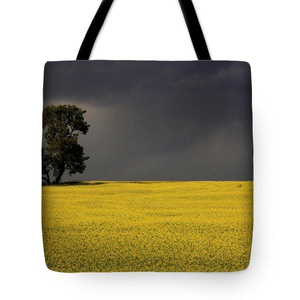 Canola Storm Tote Bag