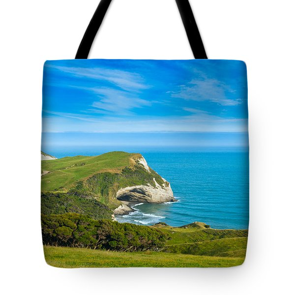 Cape Farewell Able Tasman National Park Tote Bag
