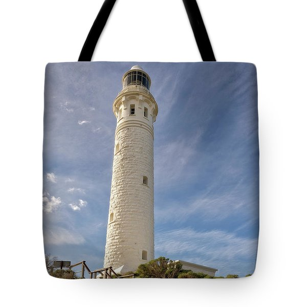 Tote Bag featuring the photograph Cape Leeuwin Lighthouse by Ivy Ho