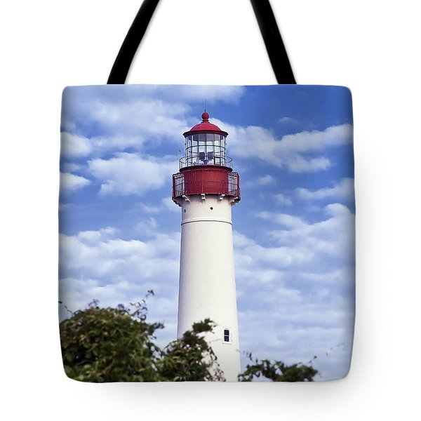Cape May Lighthouse Tote Bag by John Greim
