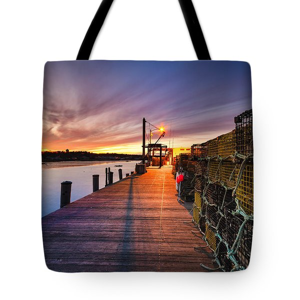 Cape Porpoise Tote Bag