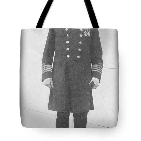 Captain Edward John Smith Rd Rnr Tote Bag