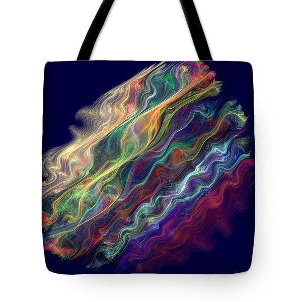 Captive Waves Tote Bag