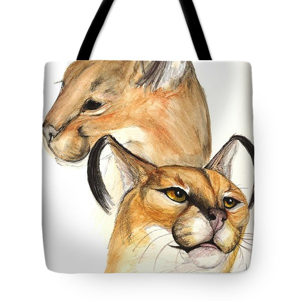 Caracal Tote Bag