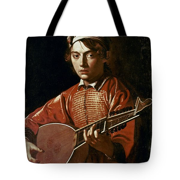 Caravaggio: Luteplayer Tote Bag by Granger
