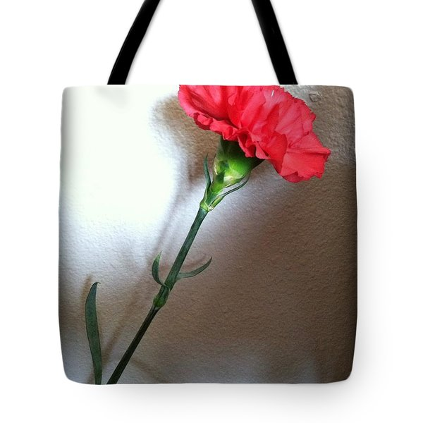 Carnation Tote Bag by Alohi Fujimoto