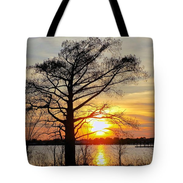 Carolina Sunset Tote Bag