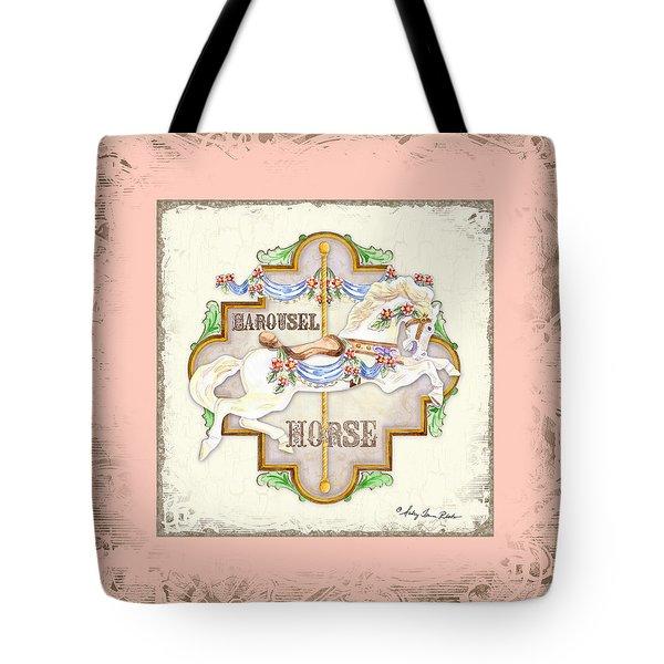 Carousel Dreams - Horse Tote Bag