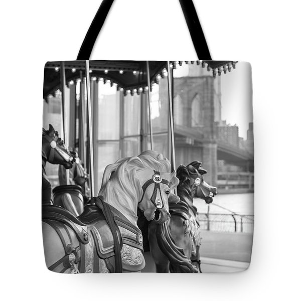 Carrousel Nyc Tote Bag