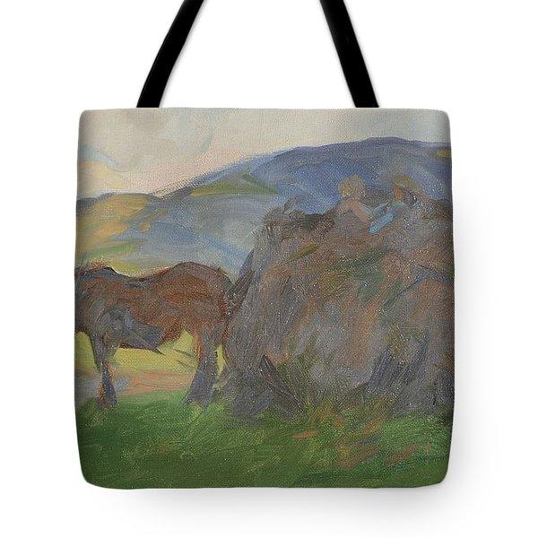 Carting Bracken Tote Bag