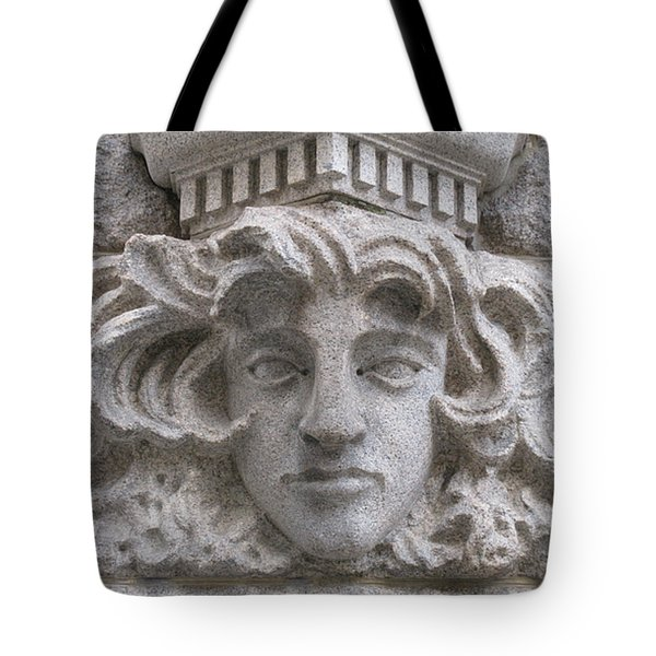 Carved In Stone Tote Bag