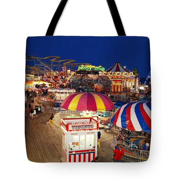 Casino Pier, Seaside Heights Tote Bag