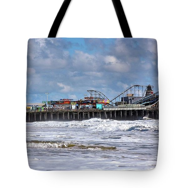 Casino Pier, Seaside Heights Nj Tote Bag