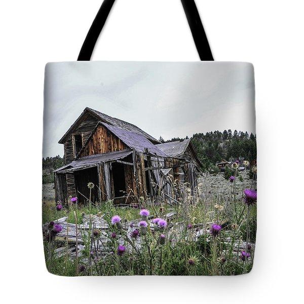 Castle Town Tote Bag