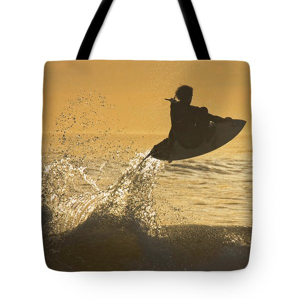 Catching Air Tote Bag