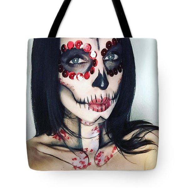 Catrina Dia De Los Muertos Tote Bag