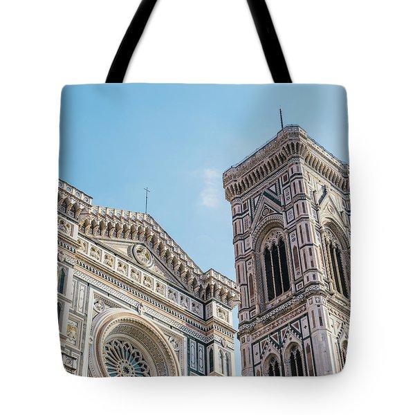 Cattedrale Di Santa Maria Del Fiore Is The Main Church Of Floren Tote Bag
