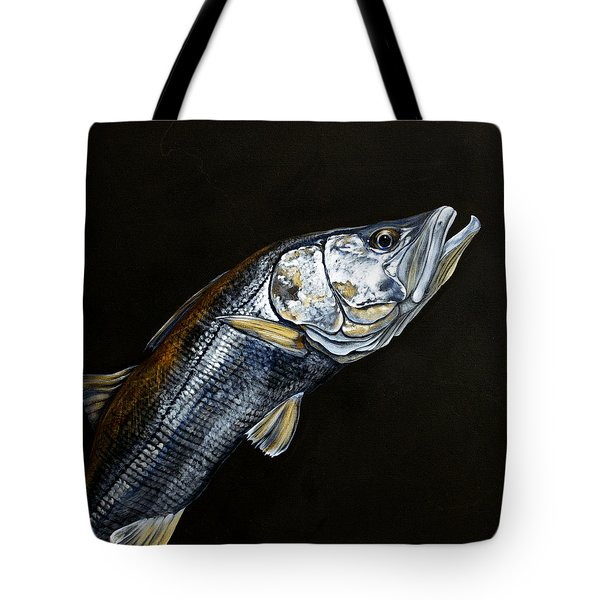 Caught In The Surf Snook Tote Bag
