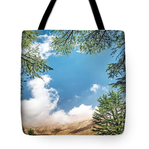 Cedars Of Lebanon Tote Bag
